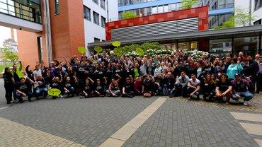 Die #bjk15 im Gruppenfoto