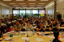 Delegierte auf der bjk15