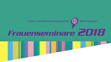 Faltblatt frauenpolitische Seminare 2018