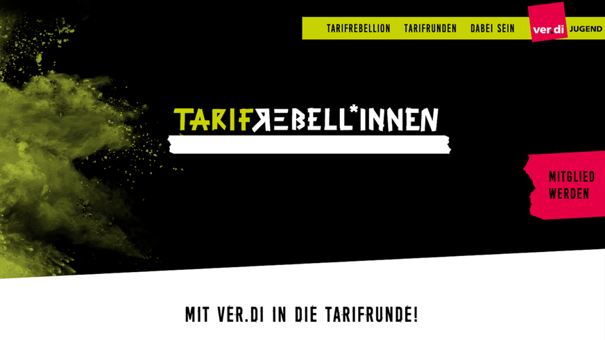 Tarifrebellion Website